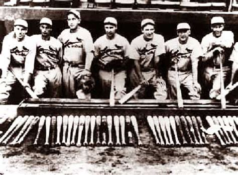 Vintage Baseball Photo St Louis Cardinals The Gas House Gang 1934