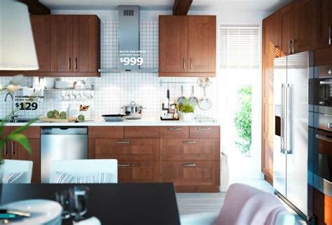 kitchen ideas from ikea ikea brown kitchen interior design ideas