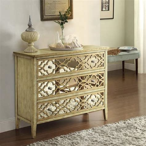 Moroccan Dresser by Coast To Coast Imports 3 Drawer Dresser
