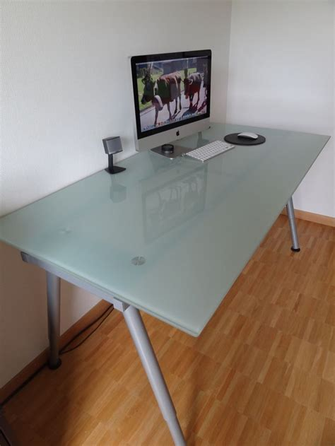 ikea glass office desk 1000 ideas about glass top desk on large