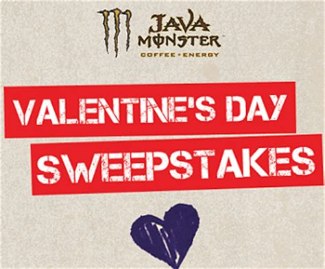 Valentine Sweepstakes - sweepstakes java monster energy valentine s day