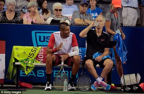 Last Week I Got Invited To The Premiere Of The H by Nick Kyrgios Warned By Mcenroe To Stop