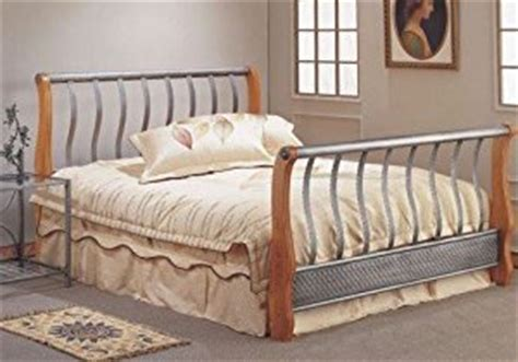 King Size Metal Headboard And Footboard by Eastern King Size Carving On Metal Bed W