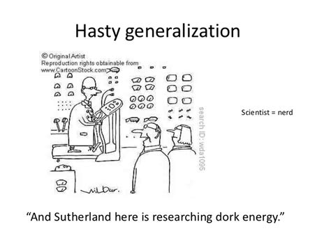 exle of hasty generalization hasty generalization fallacies in the news