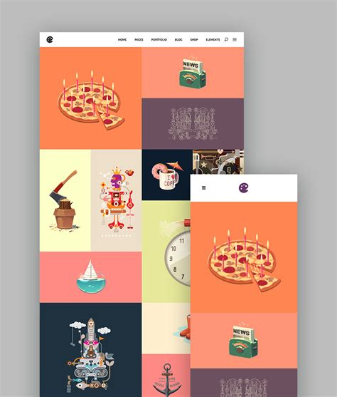 15 Best Wordpress Portfolio Themes For Creatives Illustrator Website Template