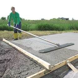 how to lay a concrete slab how to build a house