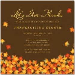 thanksgiving invitations 365greetings