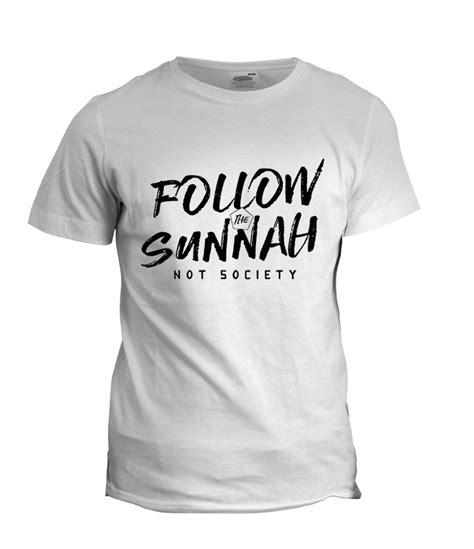 T Shirt Islam white t shirt sunnah t shirt islamic shop