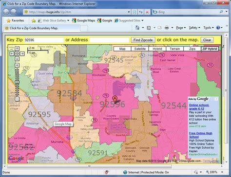 tutorial   show zip codes   google map