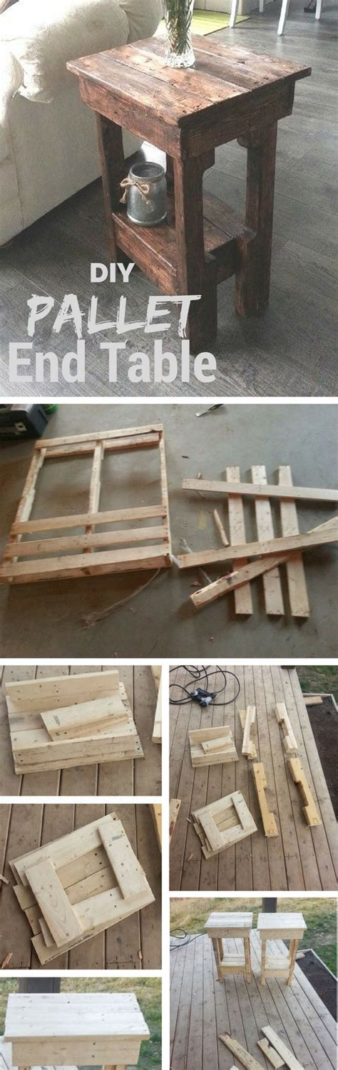 5 Midweek Diy Projects by 17 Clever And Creative Diy Tables 5 Pallet End Table