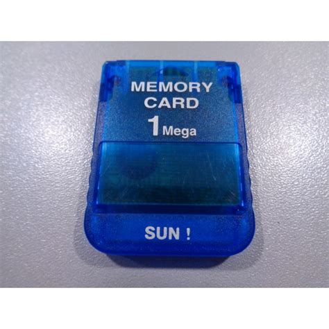 Memory Ps1 sun ps1 memory card 1mb xq gaming