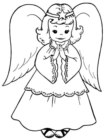 preschool coloring pages angels 84 preschool angel coloring page disney fairy
