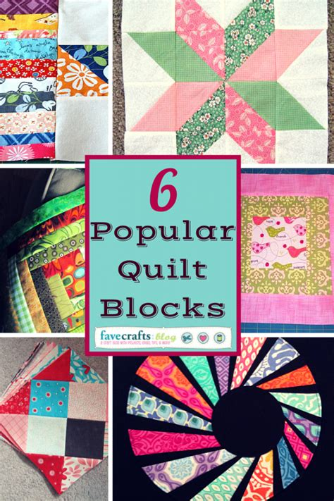 Popular Quilt Patterns quilt block 6 popular quilt block patterns