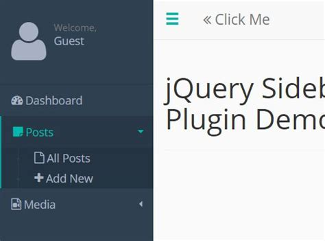 pure css off canvas sidebar navigation css script stylish off canvas sidebar plugin with jquery sidebar js