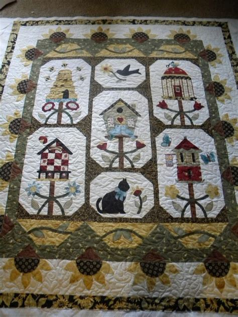 Birdhouse Quilt by 27 Best Images About Birdhouse Quilts On
