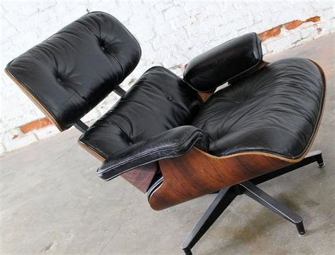 vintage chair and ottoman vintage herman miller eames lounge chair and ottoman in