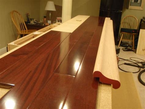how to build a bar top counter laminate floor bar top bar ideas pinterest