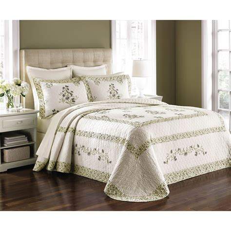 martha stewart collection bedding martha stewart collection abbey garden bedspread