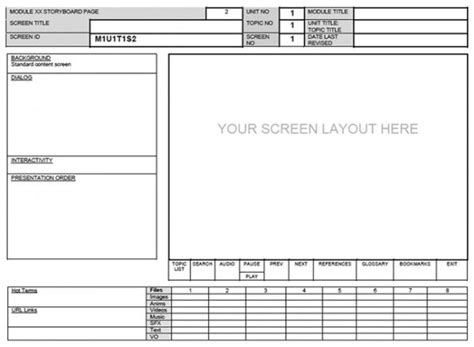 software storyboard template storyboard powerpoint templates the best free software