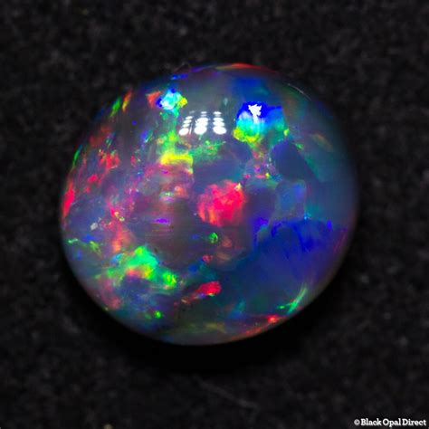 black opal 0 78 ct gem black opal 7x6x3mm black opal direct