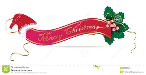 christmas banner royalty free stock image image 33918856