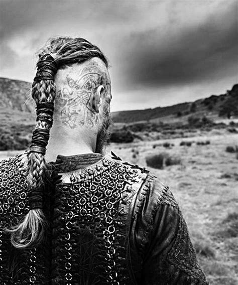 ragnar head tattoos season 2 ragnar lothbrok tv tattoos
