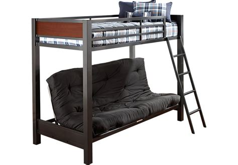 bunk bed futon with mattress louie gray twin futon loft bed bunk loft beds colors