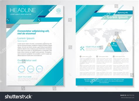 Front Page Design Template vector brochure flyer design layout template front page and back page easy to use and edit