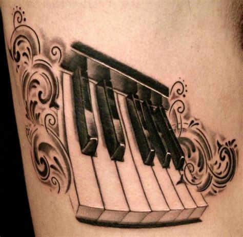 piano keys tattoo 20 lovely piano ideas truetattoos