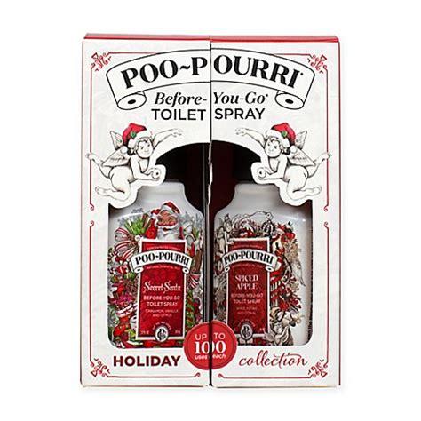 before you go bathroom spray poo pourri 174 before you go 174 toilet spray 2 piece holiday