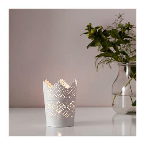 kerzenhalter ikea skurar candle holder white 11 cm ikea