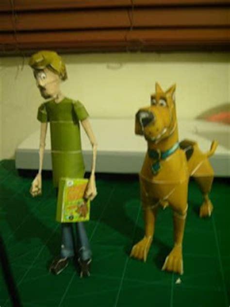 Scooby Doo Papercraft - scooby doo papercraft papercraft paradise papercrafts