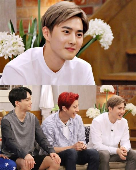 exo happy together punya imej orang kaya suho ternyata member exo yang
