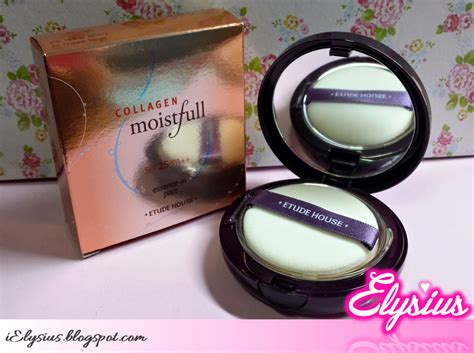 Hub Etude House Collagen Moistfull Essence In Pact Spf 25 Pa elysium place of ideal happiness mini haul etude house