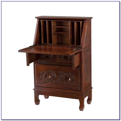 Antique Drop Front Desk With Hutch Desk Home