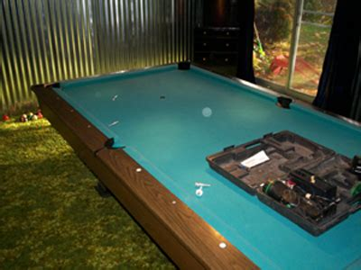 refelting a pool table an exact how to diy guide