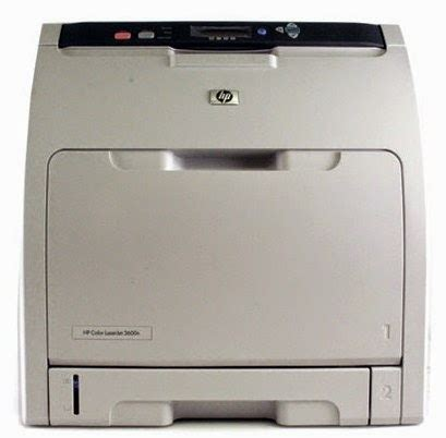 hp color laserjet 3600n printer driver free