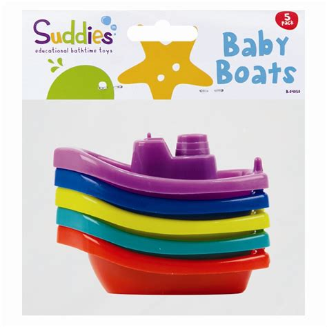 toy boat toddler 5pc assorted colours baby bath time toy boats infant