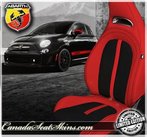 fiat  abarth leather upholstery