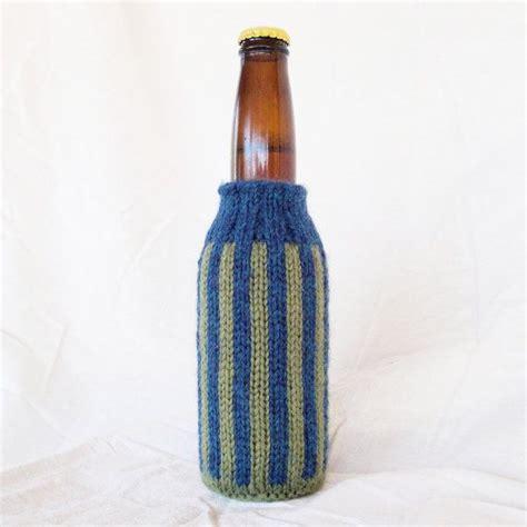 knit koozie 1000 ideas about koozie on crochet
