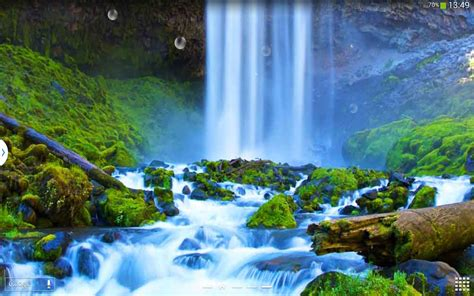 download wallpaper animasi alam wallpaper pemandangan air terjun bergerak images hewan