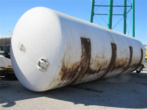 buffalo tank 22 000 gal horizontal compressor air receiver storage tank 110 psi bullseye
