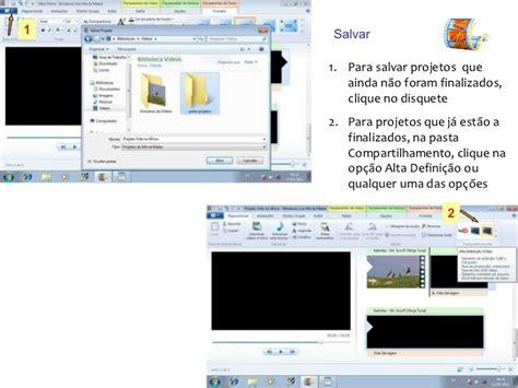 tutorial movie maker pdf portugues tutorial movie maker live