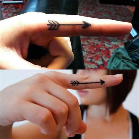 fingers tattoos arrow tattoos designs ideas and meaning tattoos for you