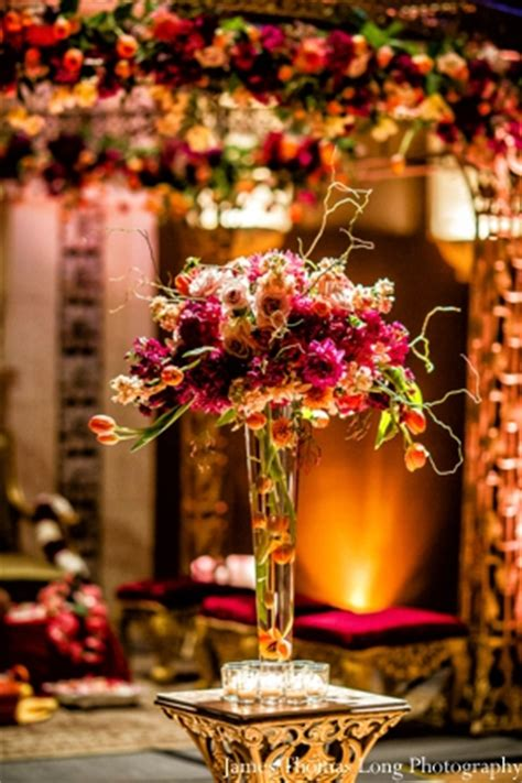 Floral Decoration For Indian Wedding by Vineyard Indian Wedding By Photography