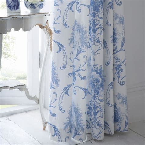 blue toile curtain panels best 25 toile curtains ideas on pinterest blue lined