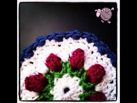 free crochet pattern octagon motif crochet flower bud granny octagon afghan squares and