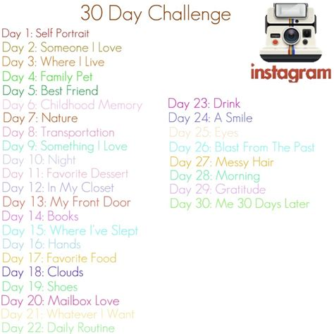 instagram 30 day photo challenge instagram 30 day photo challenge how random