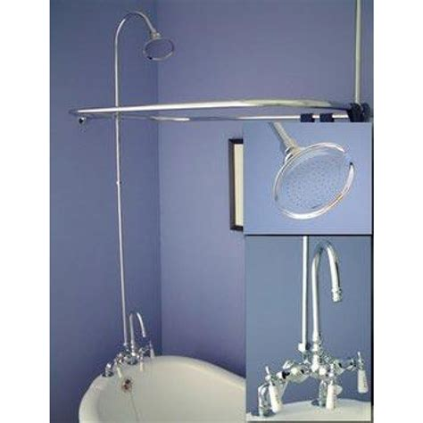 claw bathtub shower kit clawfoot tub shower faucet chrome clawfoot tub faucet