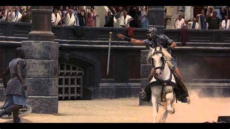 gladiator film fight scene gladiator soundtrack quot barbarian horde quot youtube